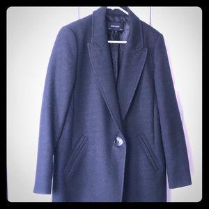 Black Zara overcoat